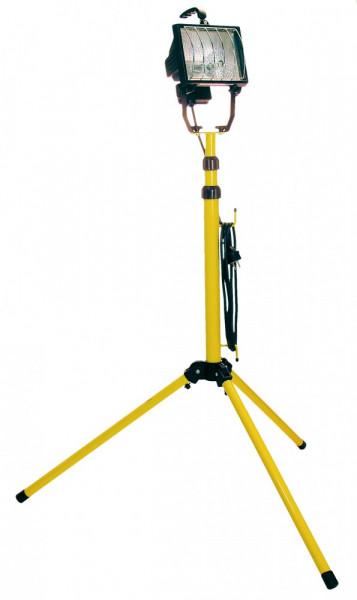 Halogenstrahler 2x400W mit Stativ, verstellbar bis 2m, inkl. Röhren, 2,5m Kabel
