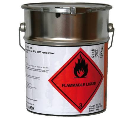 Stollreflex D 1120 High-Solid Straßenmarkierfarbe aromatenfrei Grün RAL 6024 6 kg